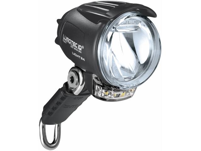 Busch + Müller IQ Cyo Premium T Latarka czołowa czujnik + stojak + światło, black